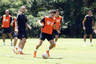 Los jugadores completaron el primer entrenamiento en tierras sudamericanas en el Colegio Jefferson de Cali (Colombia).