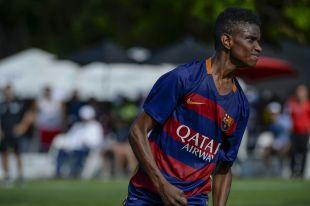 XX Torneo internacional LaLiga Promises Miami - Segunda jornada de competición. barça - weston