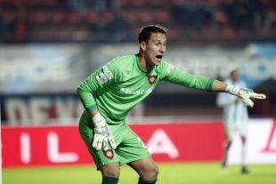 El portero de San Lorenzo, Devecchi, fue clave para su equipo con varias intervenciones de mérito