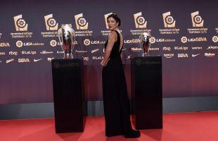 Garbiñe Muguruza, en los #PremiosLaLiga