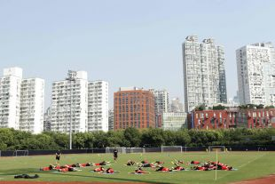 El Atlético disfrutó de su segunda parada de la Gira LFP World Challenge, Shanghai.