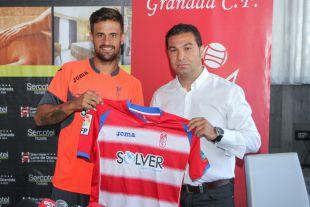 Javi Márquez, en su nueva etapa como jugador del Granada