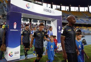 El Grand Stade du Tanger fue el escenario del encuentro del Granada en la Gira LFP World Challenge