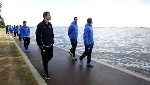 El Málaga CF puso rumbo a Australia para dar a conocer el fútbol español en Oceanía.