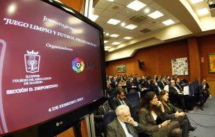 Jornada Jurídica sobre el juego limpio organizada por la LFP e ICAM