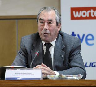 Adelardo Rodríguez, presidente de la Fundación Atlético de Madrid