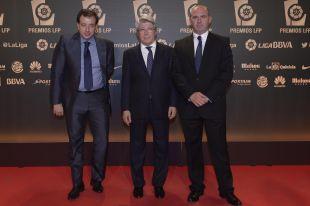 Enrique Cerezo (Atlético Madrid), en la 'Gala de los Premios LFP 2014'