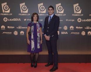 Miriam Blasco y Nico García, invitados a 'Gala de los Premios LFP 2014'