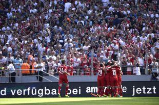 El estadio alemán vivió una gran tarde fútbol