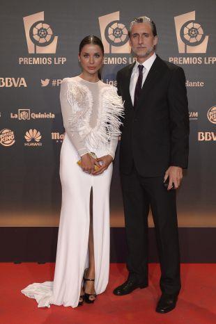 El exfutbolista Pablo Alfaro en la alfombra roja de la 'Gala de los Premios LFP 2014'