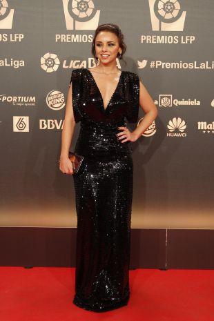 La cantante Chenoa, en la 'Gala de los Premios LFP 2014'