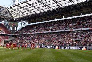La grada disfrutó de hasta cinco goles, en este partido de la Gira LFP World Challenge
