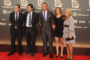 Delegación del Levante UD en la alfombra roja