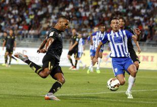 El Arabi no falló en su cita con el gol