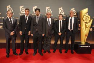 Una imagen de la delegación del Málaga CF, en la alfombra roja