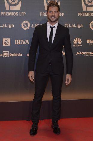 David Bisbal, en la 'Gala de los Premios LFP 2014'