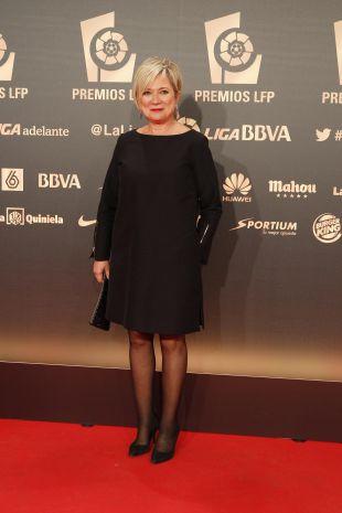 Inés Ballester, en la 'Gala de los Premios LFP 2014'