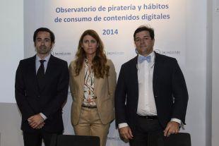 Iñigo Palau, Carlota Navarrete e Ignacio Martínez hablaron sobre la piratería en las retransmisiones de fútbol