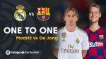 El Clásico: cara a cara Modric VS De Jong