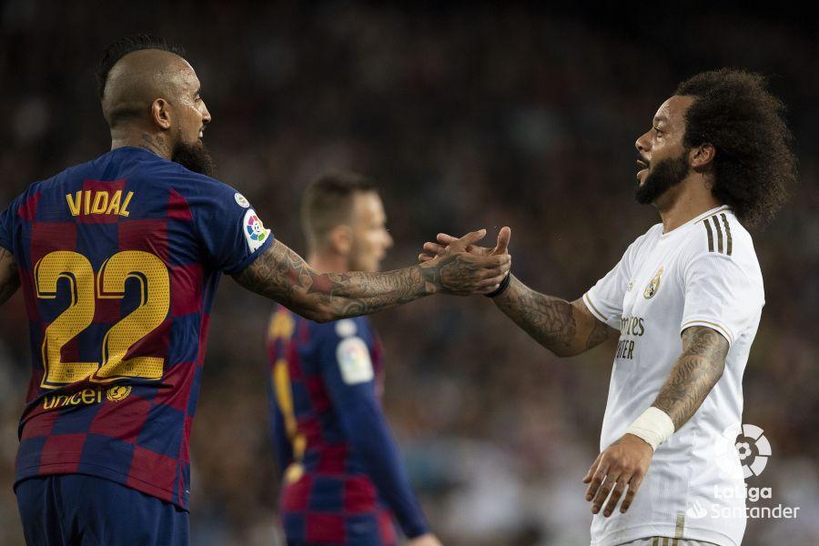 صور مباراة : ريال مدريد - برشلونة 2-0 ( 01-03-2020 )  460eeab97814f8ea2c155d7ea012c09b