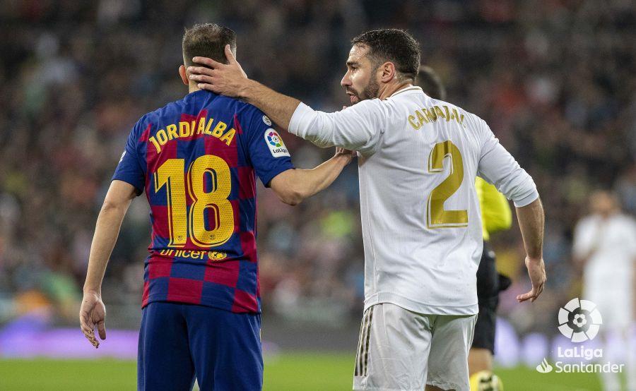 صور مباراة : ريال مدريد - برشلونة 2-0 ( 01-03-2020 )  697de2603bb86e99354a04c576a7ff96