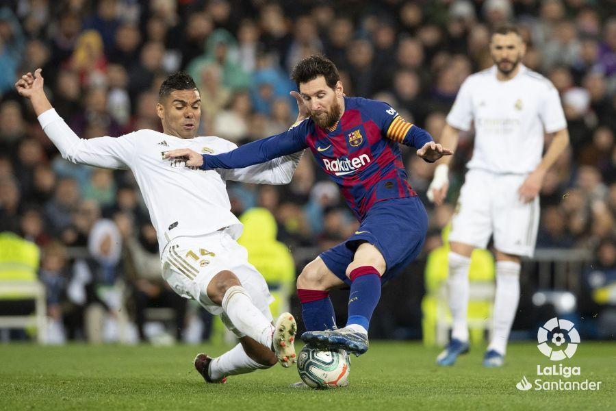 صور مباراة : ريال مدريد - برشلونة 2-0 ( 01-03-2020 )  Cbcb359bb36e29ae66e8d01cf917e6c9