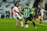 Diego Lainez ante el Real Madrid