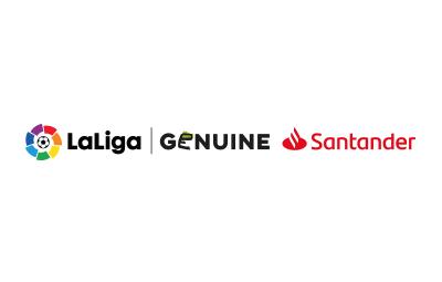 Logo LaLiga Genuine Santander Horizontal