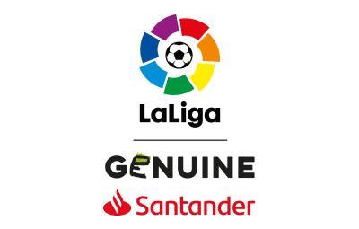 Logo LaLiga Genuine Santander Vertical